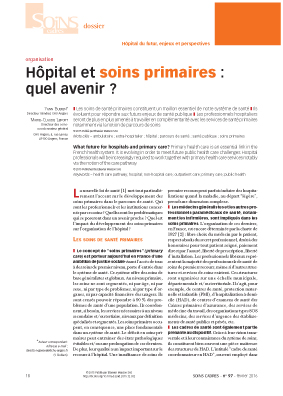 SOINS PRIMAIRES ARTICLE 1